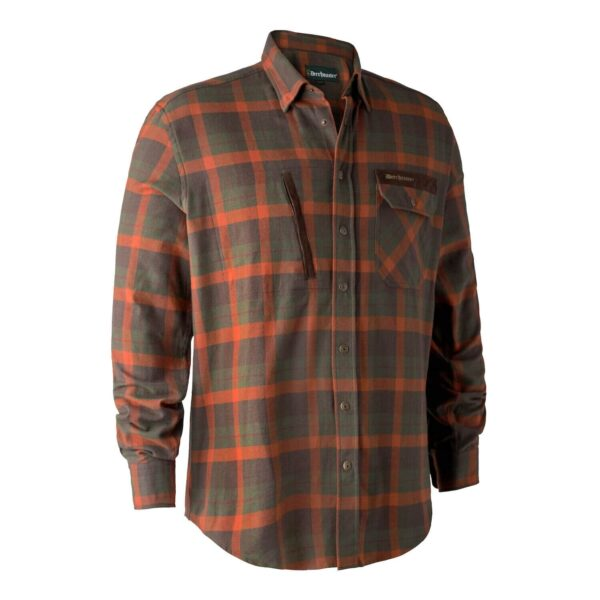 Deerhunter Ethan Skjorte Orange Check 39/40