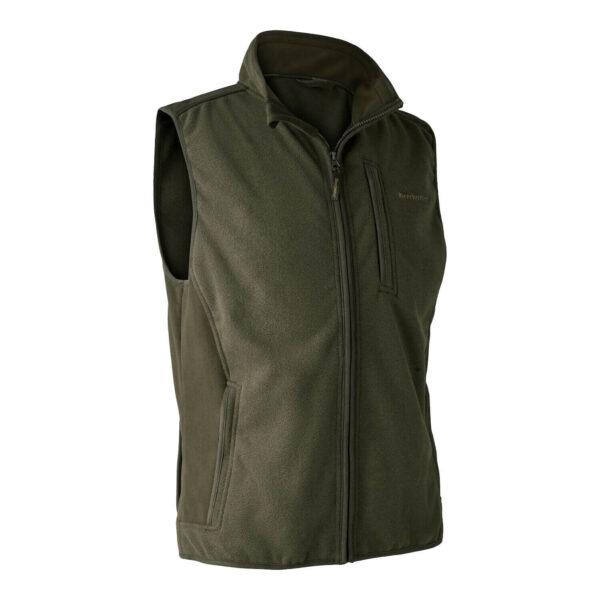 Deerhunter Gamekeeper Fleece Vest Graphite Green Small