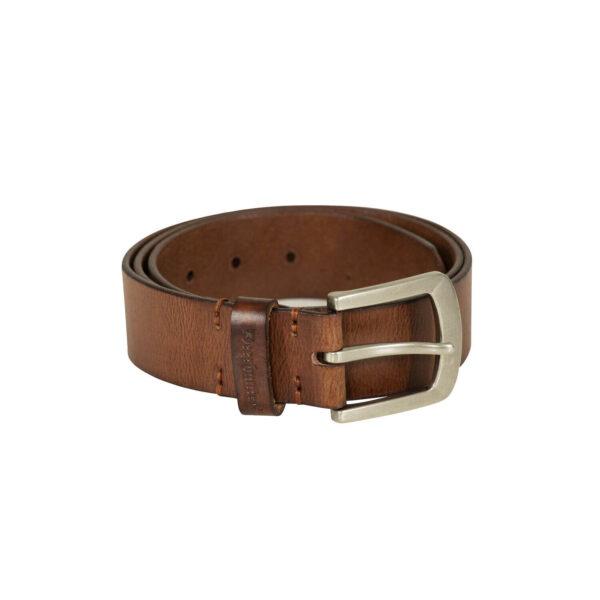Deerhunter Læderbælte, 4 cm bredde Cognac Brun 95 cm