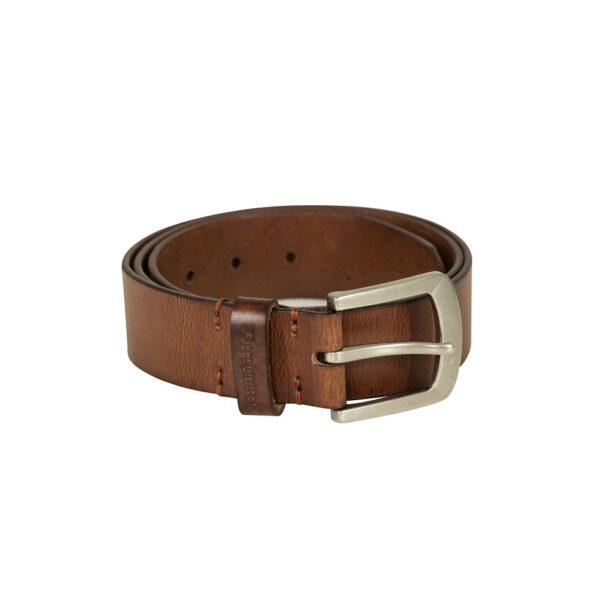 Deerhunter - Læderbælte 95 cm Lys Brun