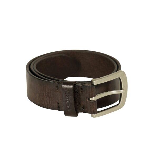 Deerhunter - Læderbælte 95 cm Mørkebrun