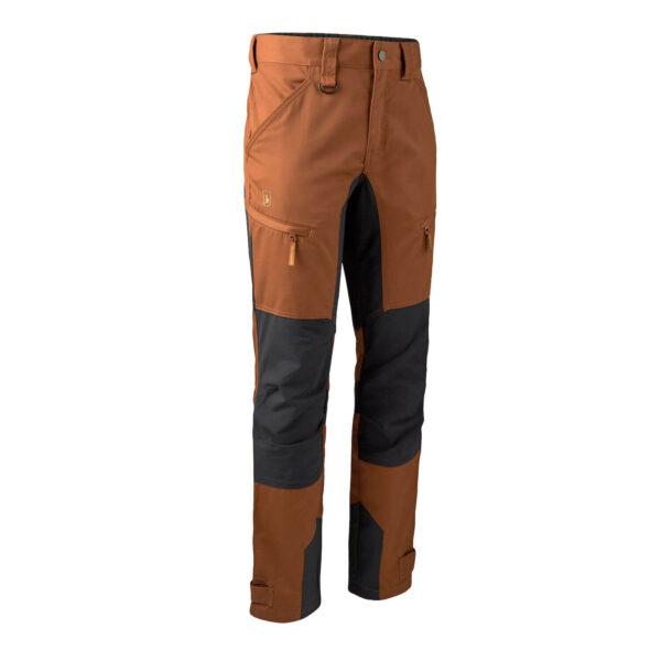 Deerhunter Rogaland Stretchbukser med kontrast Burnt Orange 48