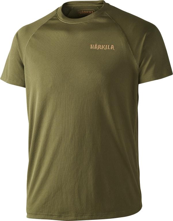 Härkila - Herlet Tech T-Shirt Small Grøn