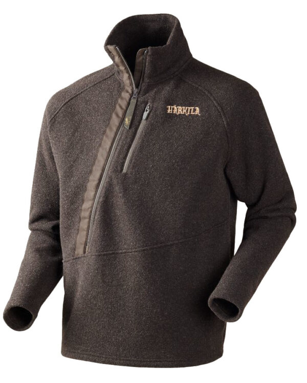 Härkila - Nite Pullover Sweater Medium Mørkebrun