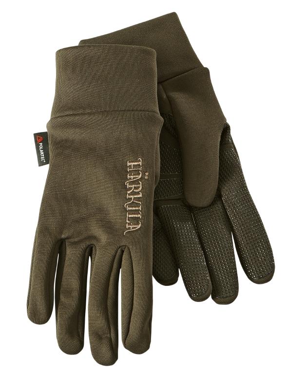 Härkila - Power Liner Handsker Medium Olivengrøn